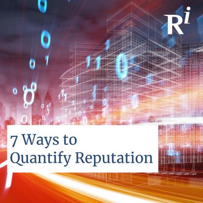 QuantifyingReputation
